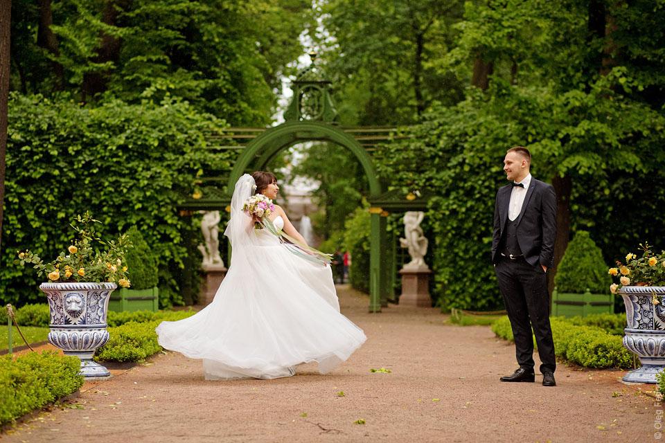Места для свадебной фотосессии в спб летом