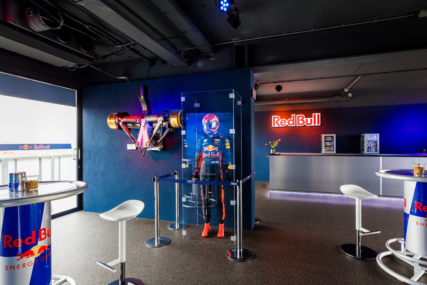 Red Bull Statafel.Red Bull Lounge