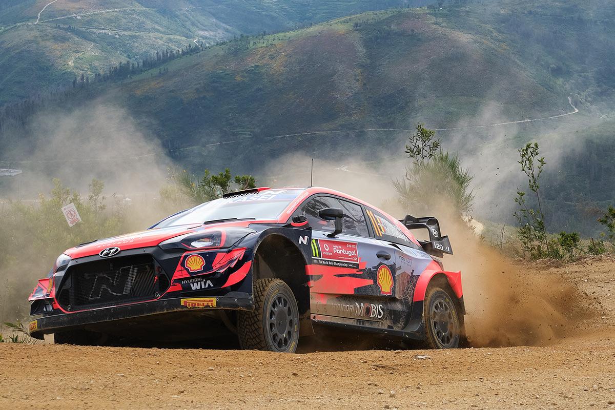 Тьерри Невилль и Мартейн Видаге, Hyundai i20 Coupe WRC, ралли Португалия 2021