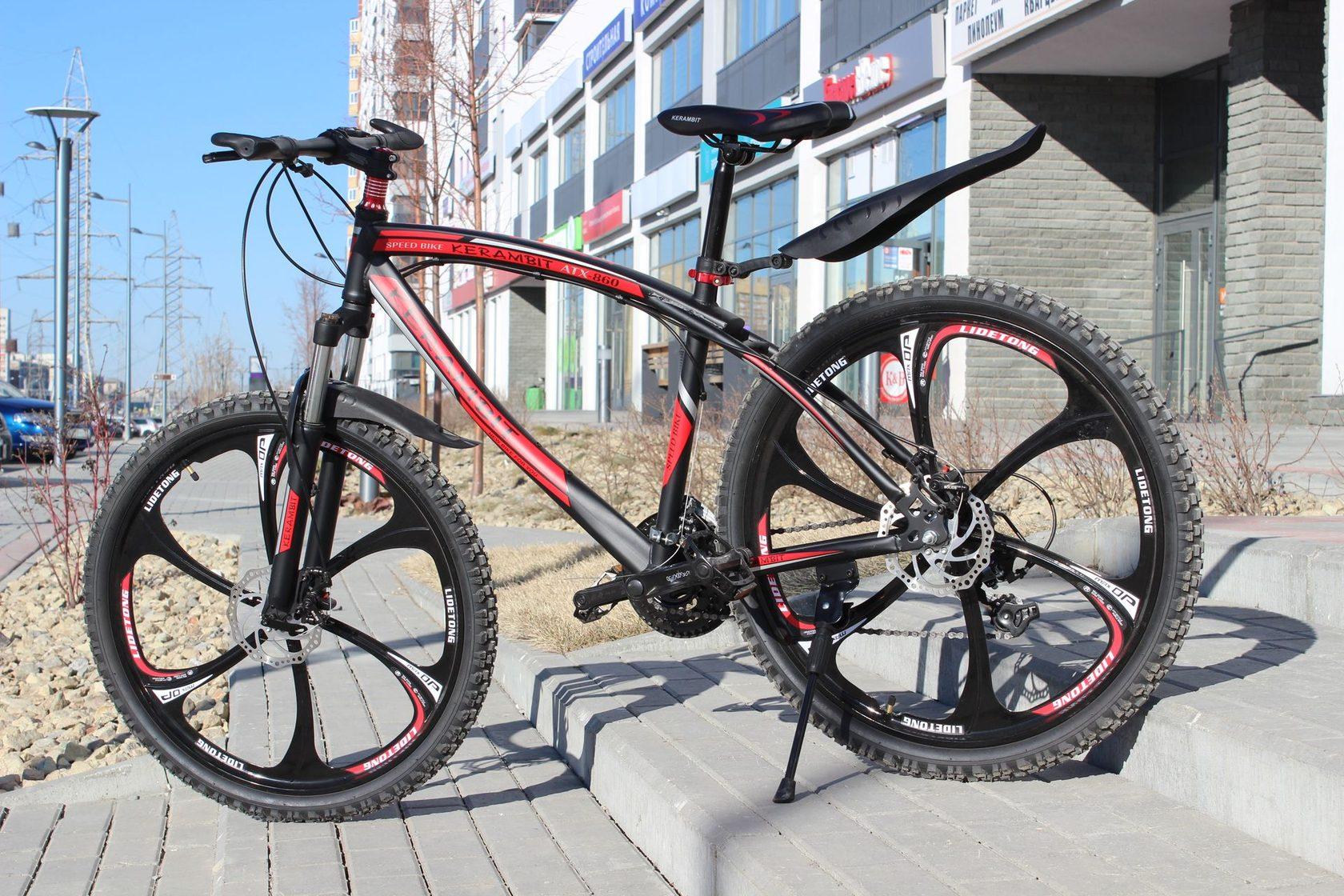 Велосипед на литых дисках KERAMBIT