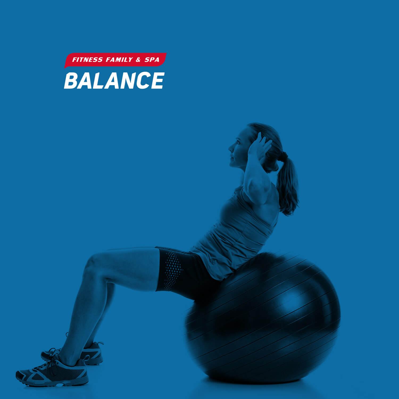 Создание логотипа и разработка фирменного стиля фитнес центра Balance