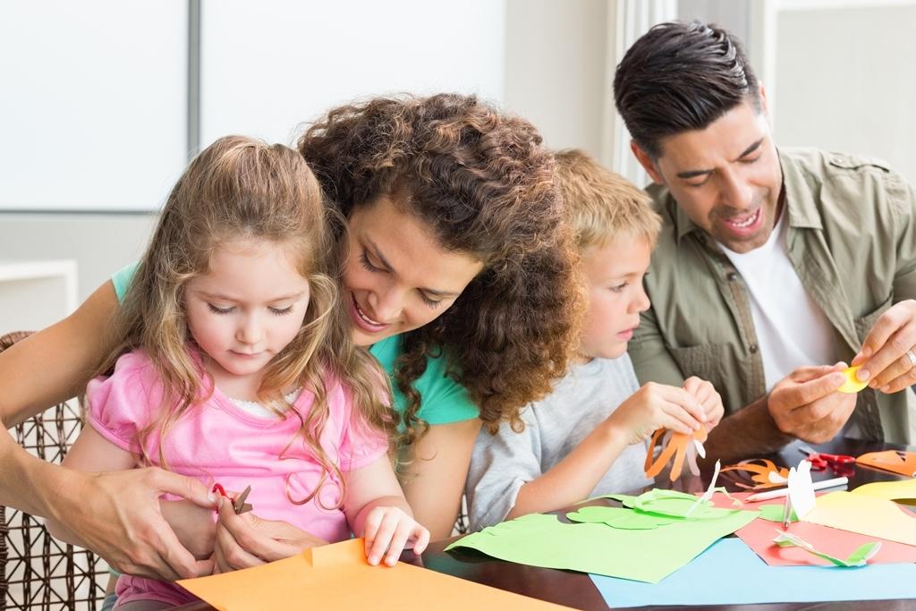 Родители и дети-школьники картинки