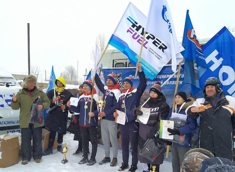 Итоги Чемпионата и Первенства России 2021 по кроссу на снегоходах в Кирове