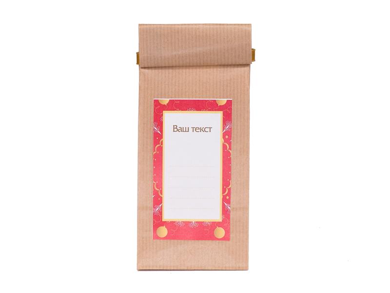 Этикетки напакеты чая икофе