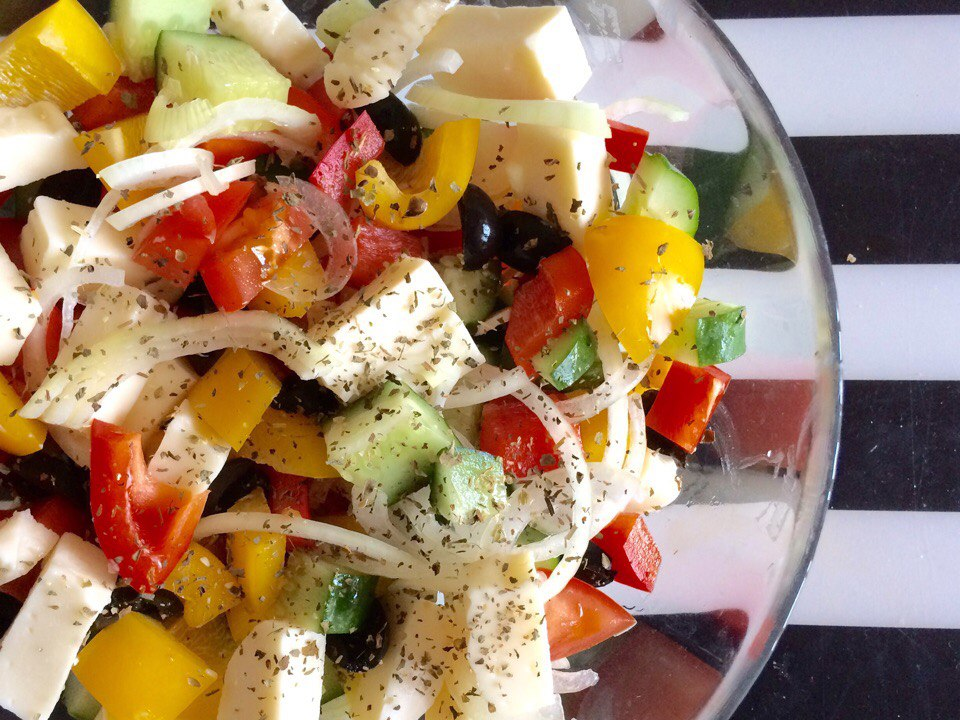 общем, как сделать греческий салат рецепт с фото надеюсь, меня стукните