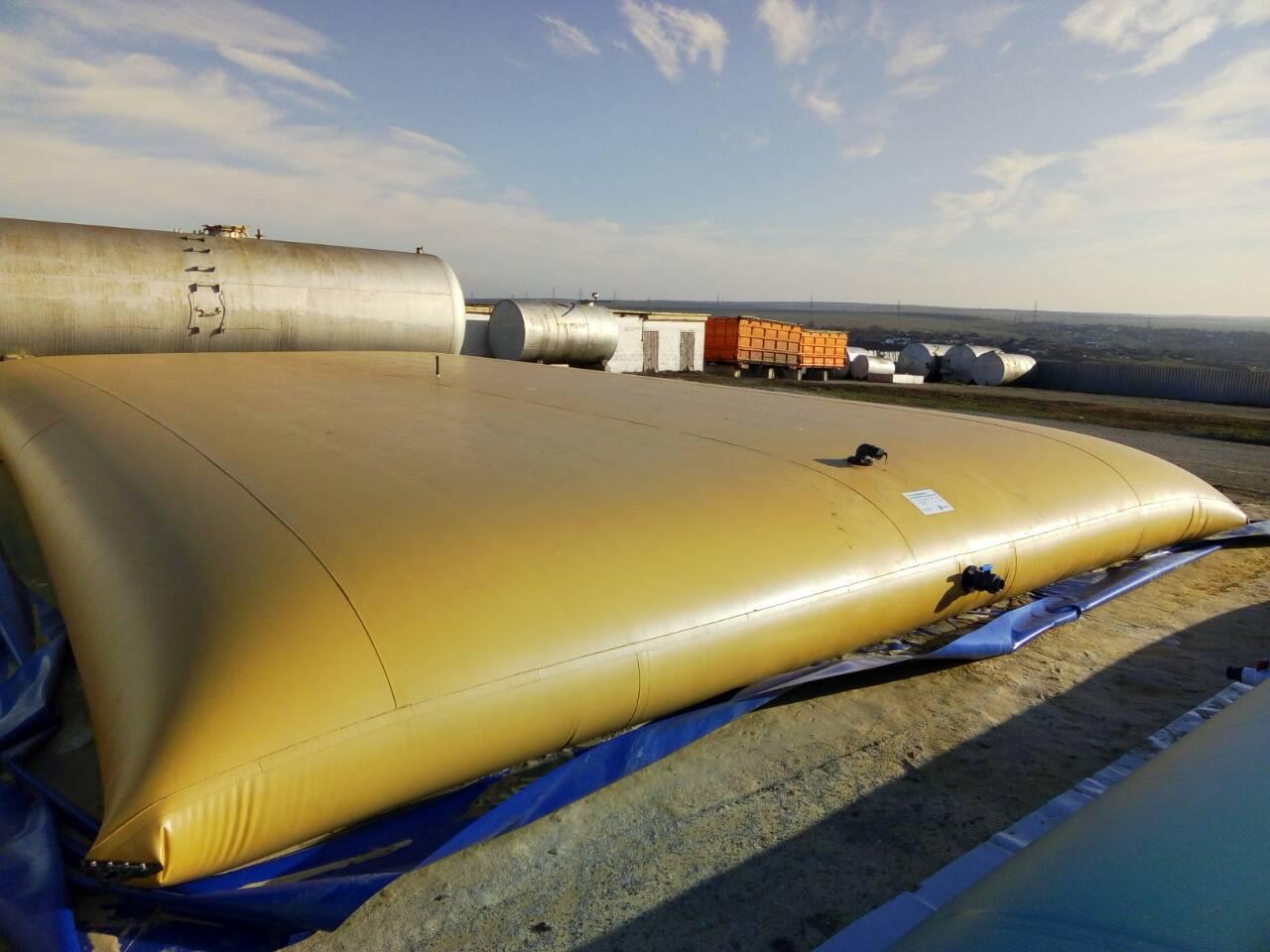 Гибкие (мягкие) резервуары из ПВХ для хранения жидкостей от производителя | Flexsol