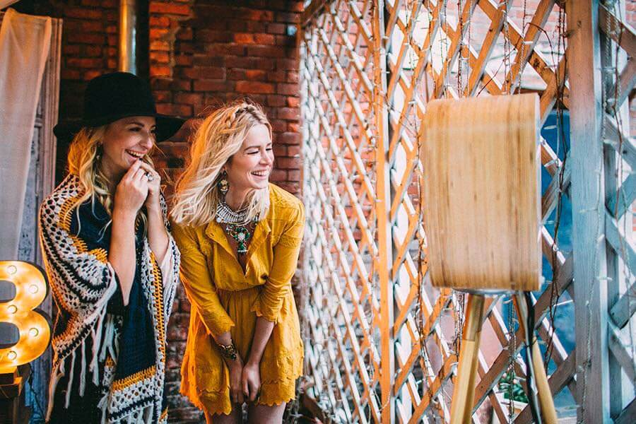 Фотостойка Барбара на вечеринке блога Simple Beyond