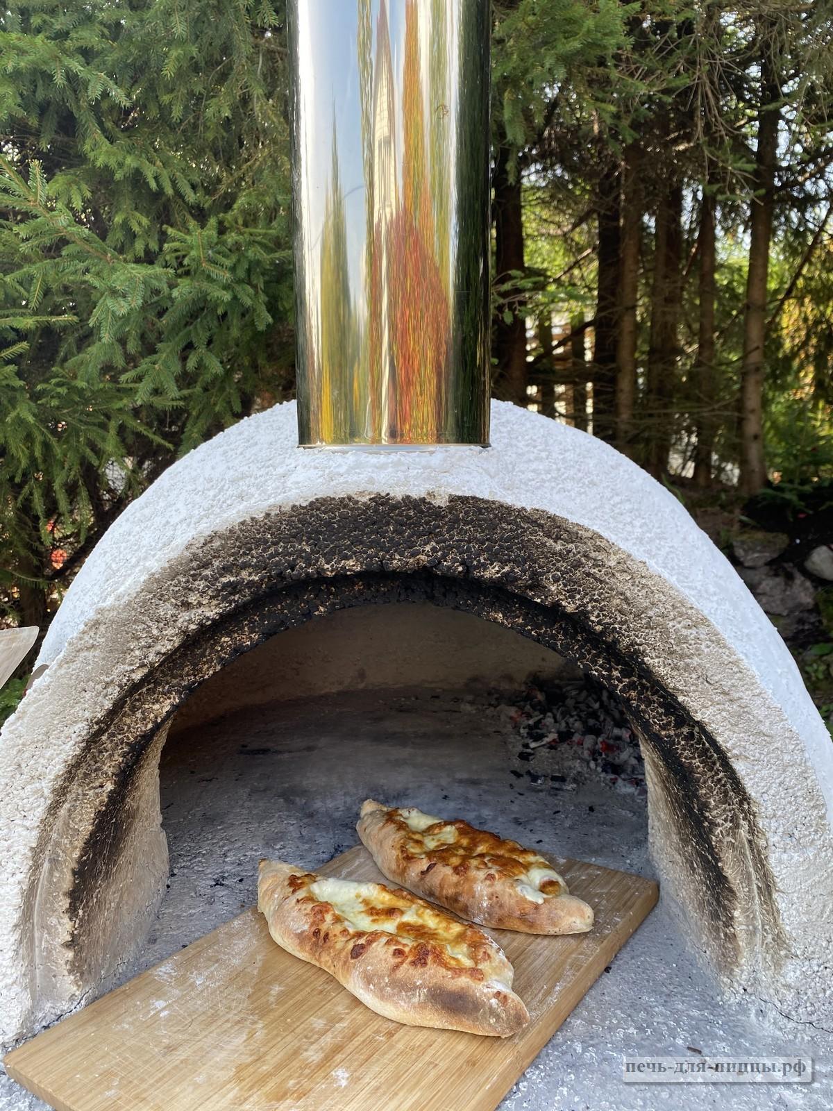 Печь на улице для пиццы