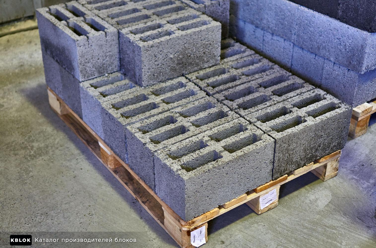 Блоки керамзитобетонные Ишлеи