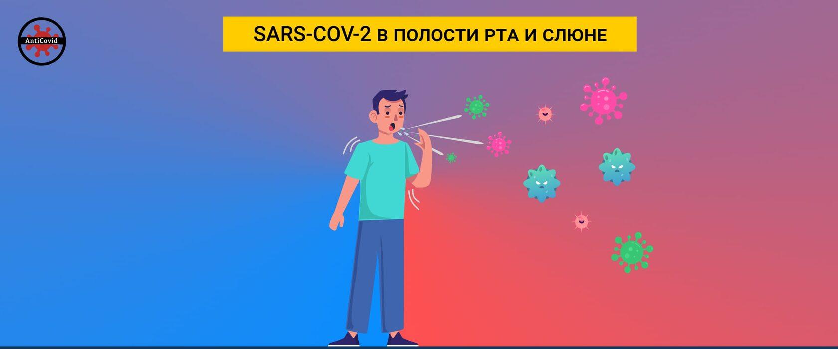 SARS-COV-2 в полости рта и слюне