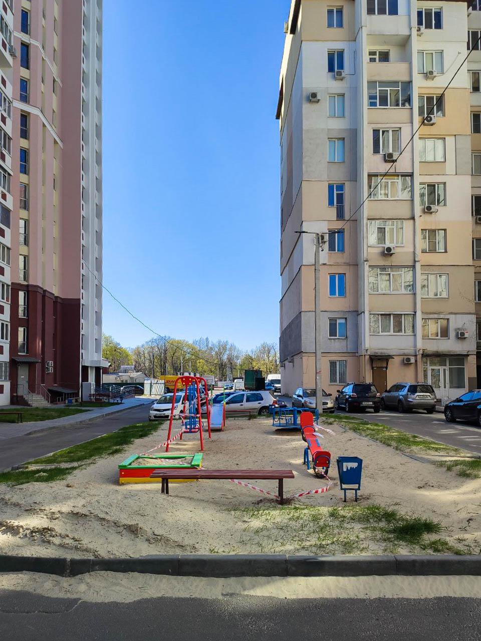 Детская площадка ЖК Московский