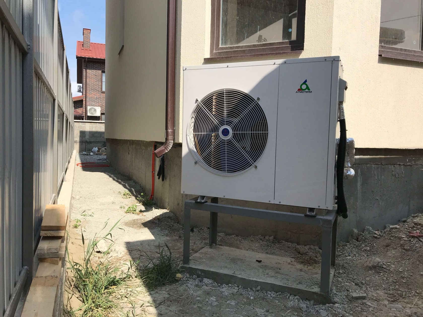 Тепловые насосы воздух-вода отзывы