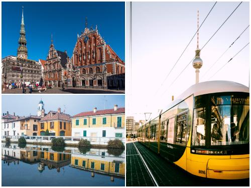 Рига, Берлин, Милан в феврале