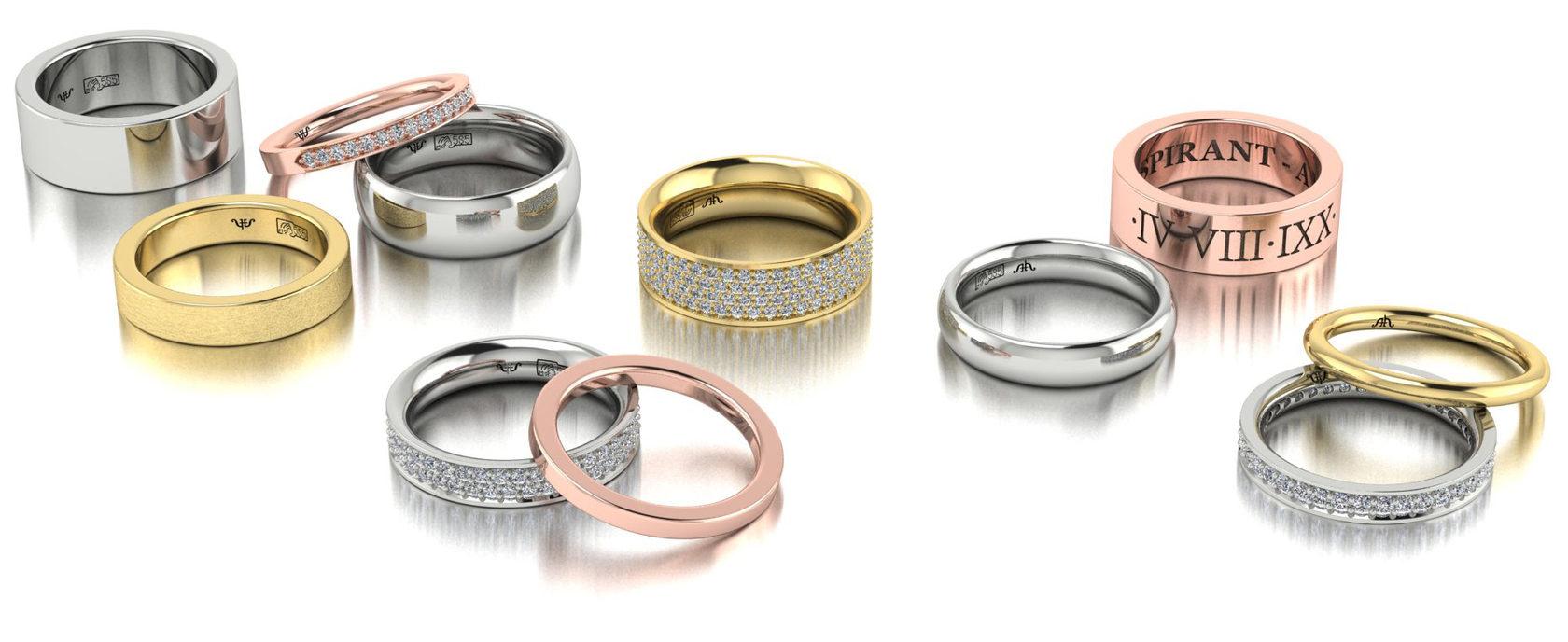 Купить классические обручальные кольца от производителя