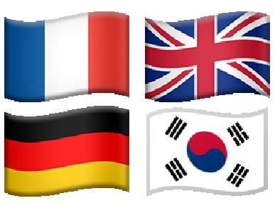 Разговорный английский, корейский, китайский, немецкий, французский языки