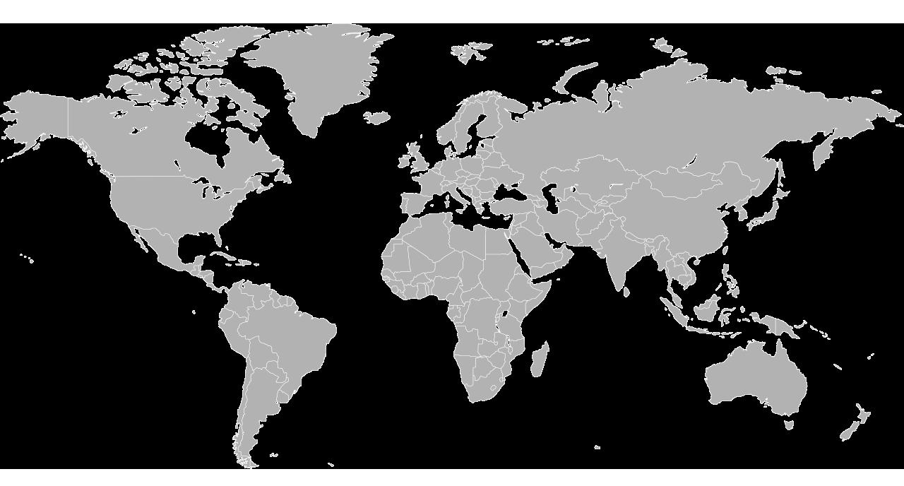 carte du monde avec des chefs