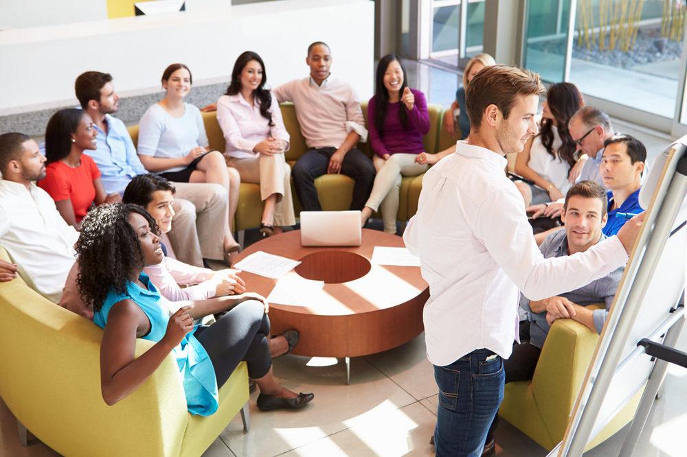 Открытки, картинка бизнес тренер