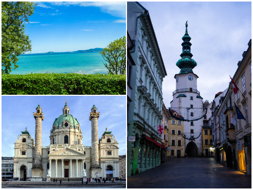 Бургас, Вена, Братислава в сентябре