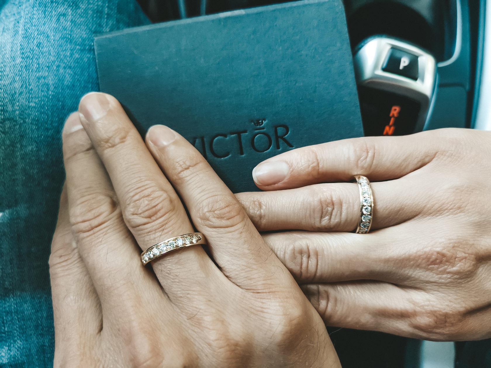 Классические обручальные кольца с бриллиантами и округлой внутренней поверхностью отзывы
