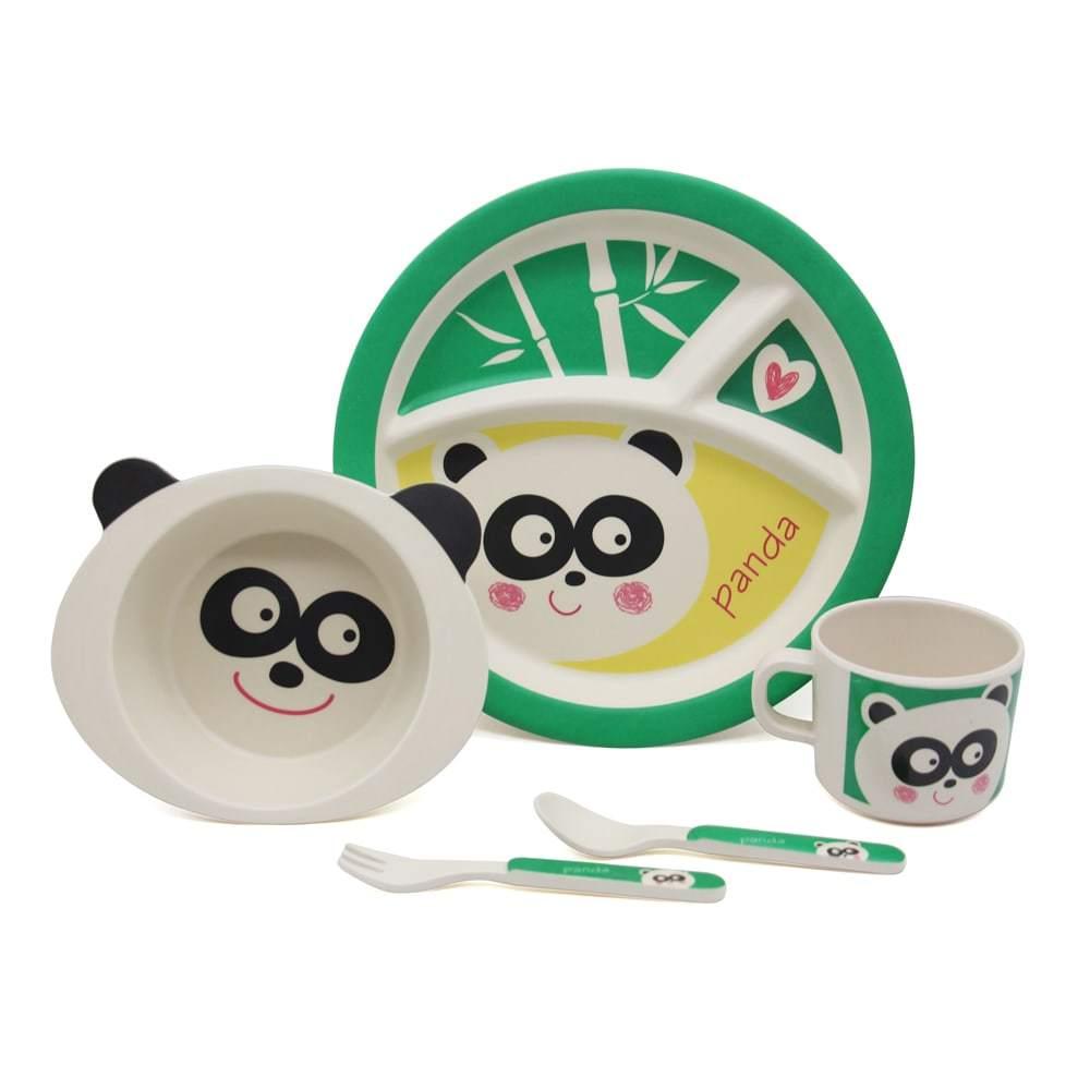 Набор посуды панда