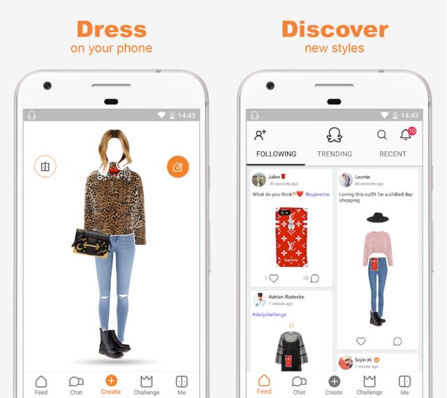 Приложение где по фотографии можно найти одежду