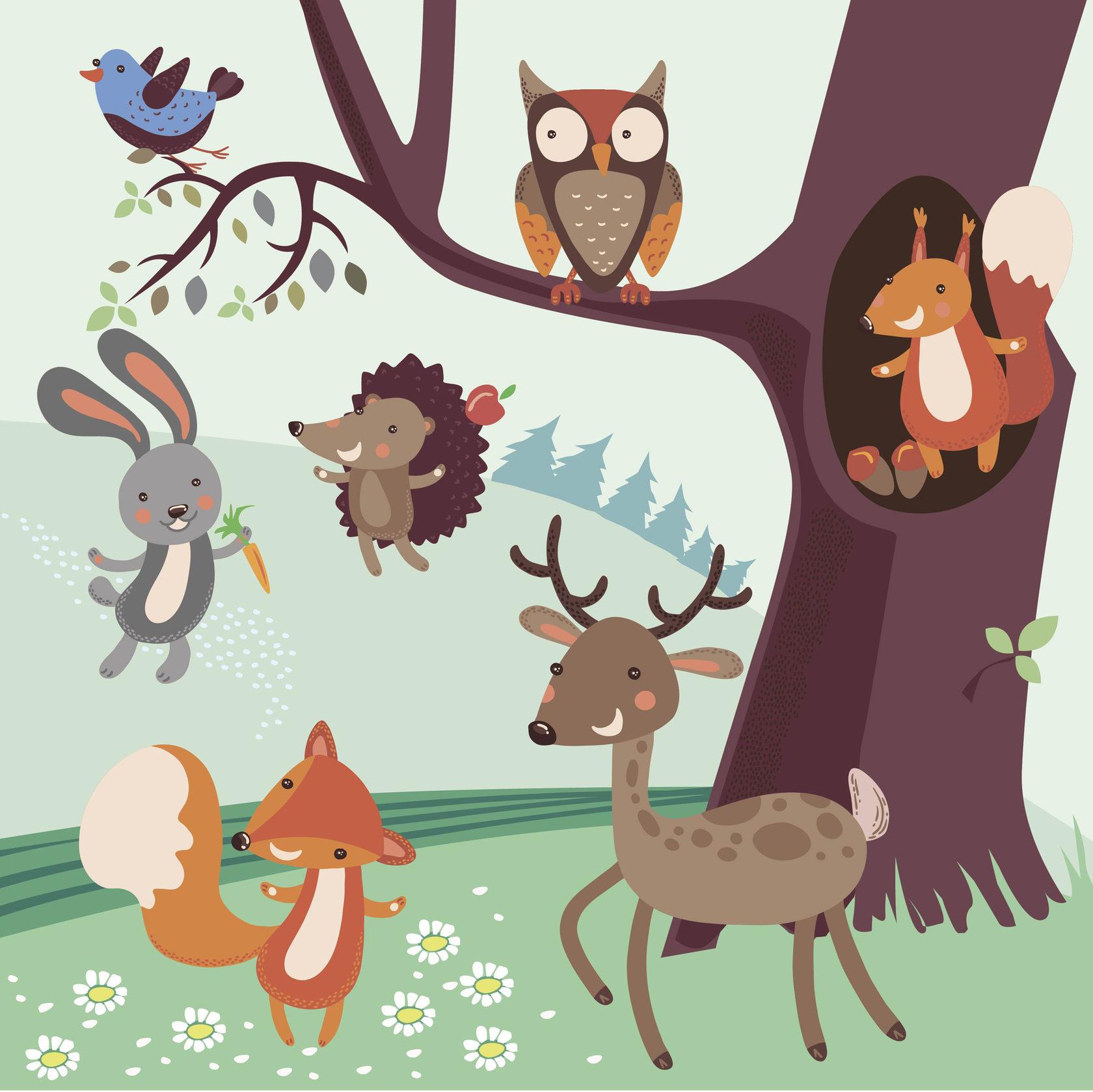 Плакат с деревом