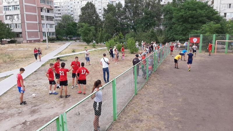 Партия Шария в Каменском провела футбольный турнир - фото
