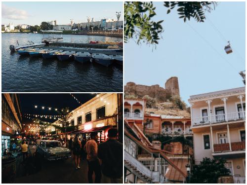 Минск и Тбилиси летом