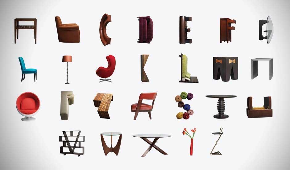 Дизайнеры рекомендуют! Модный тренд — английские буквы в интерьере. Как легко выучить английский алфавит с правильной мебелью!