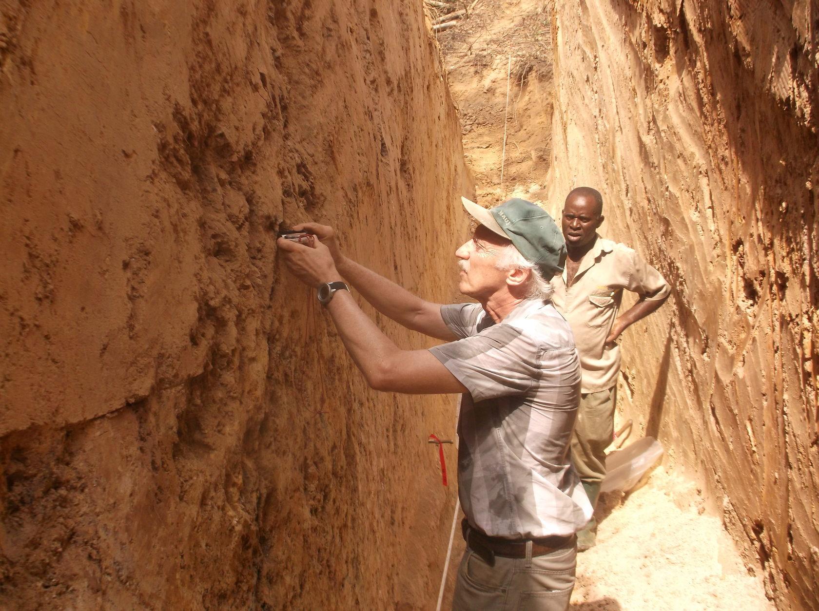 Kubi East TR3 - President - mapping quartz vein