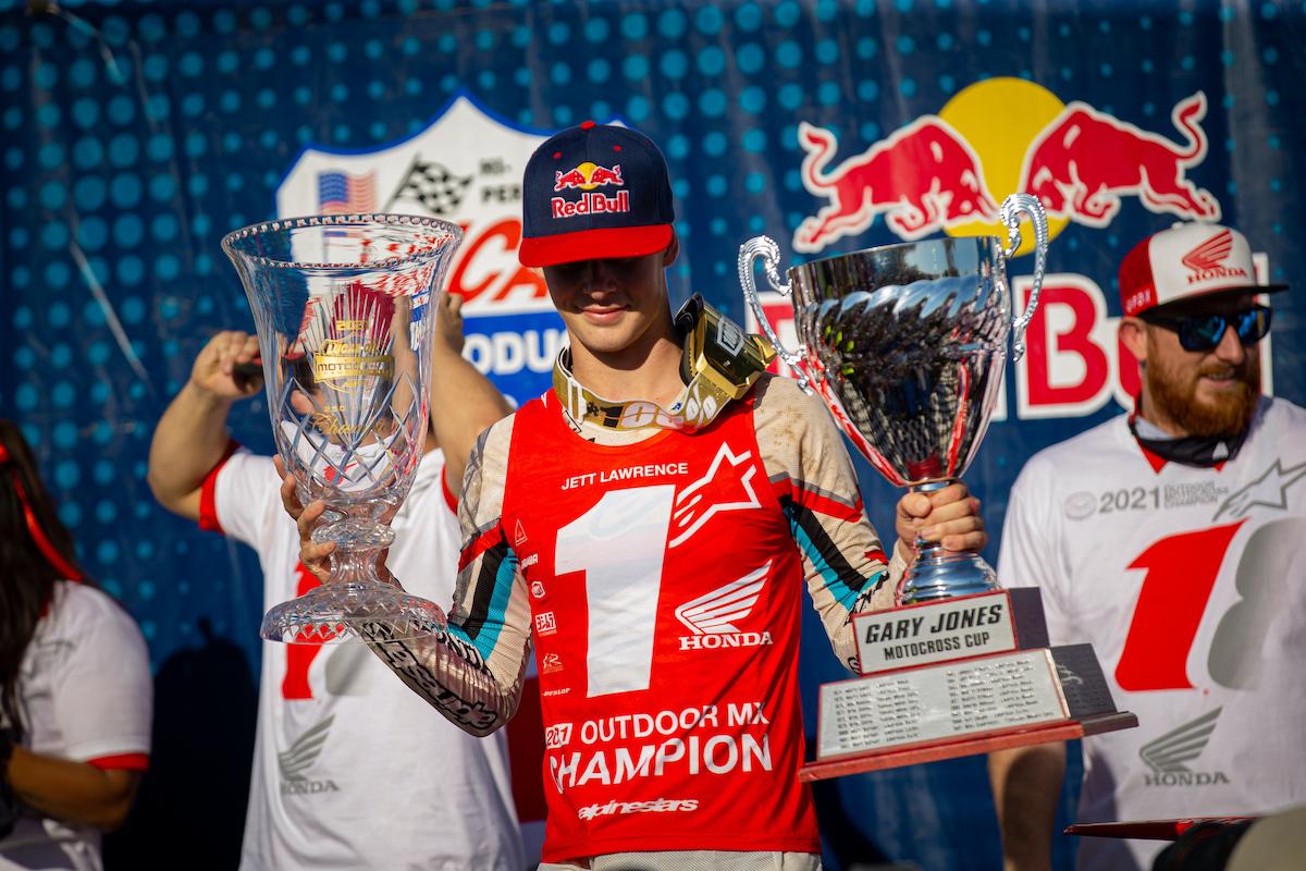 Джетт Лоуренс – чемпион АМА Мотокросс 2021