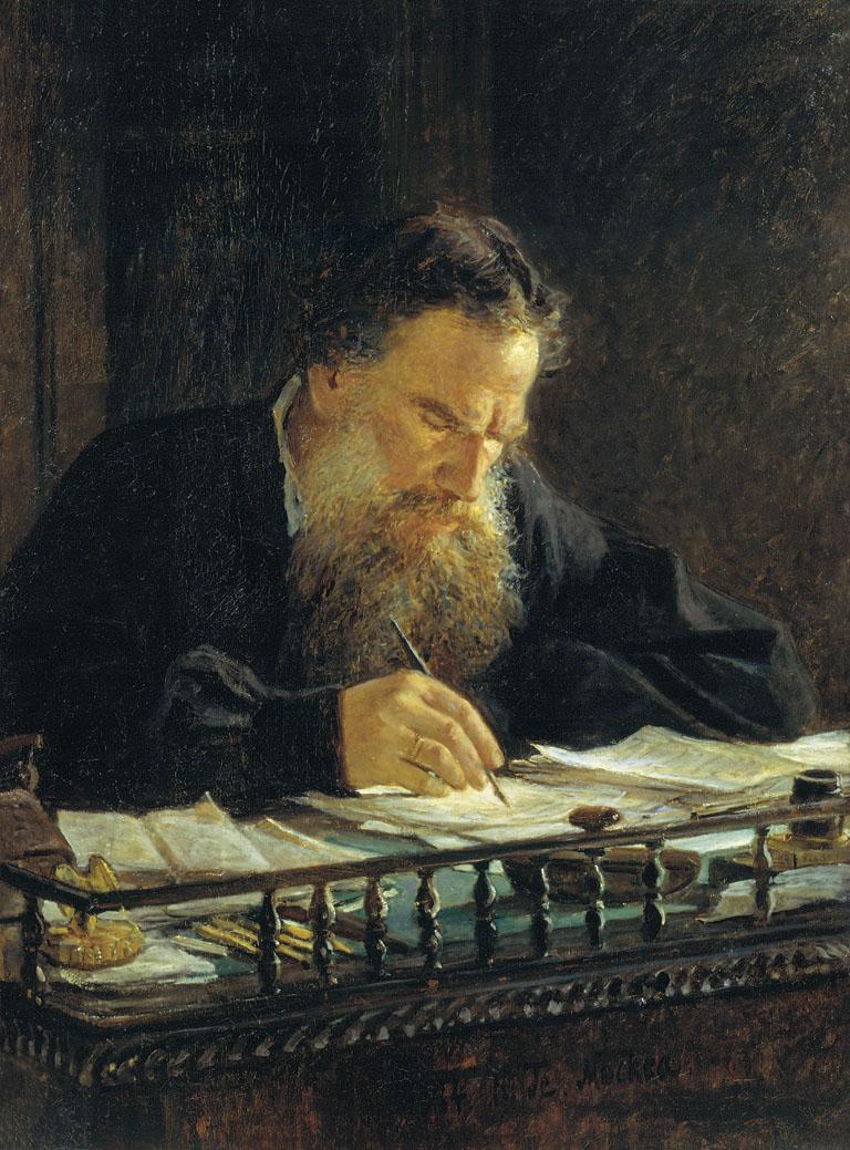 Портрет писателя Л.Н. Толстого, Николай Ге