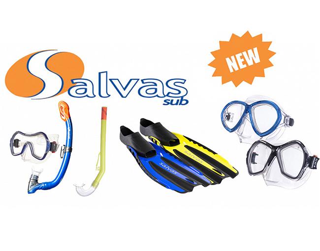 Новинки для плавания от итальянского бренда SALVAS