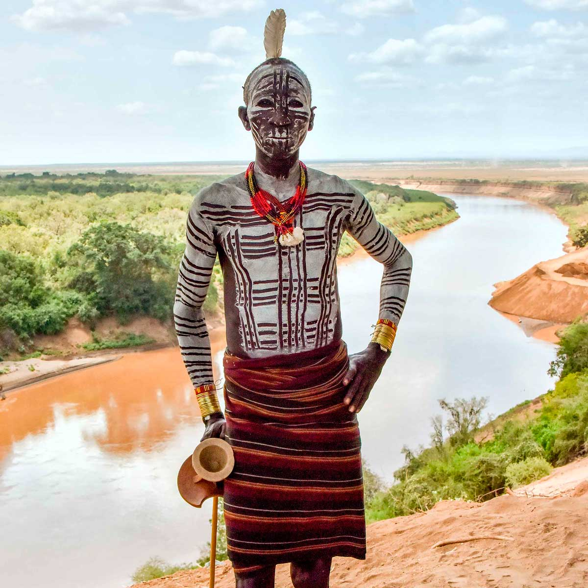 Африканские племена нила фото