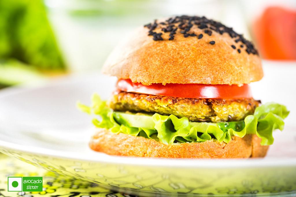 vegburger вегетарианский гамбургер бургер