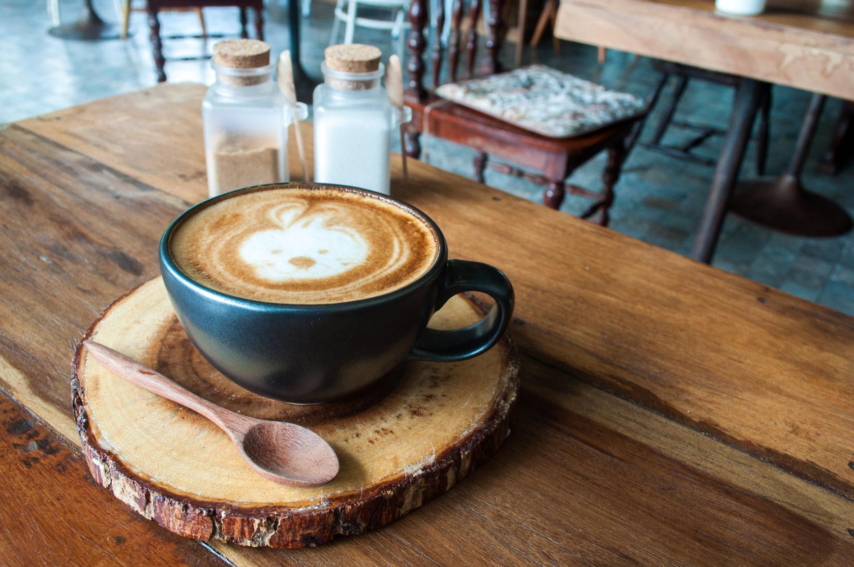 будь картинка чашка кофе выпить краска подсохнет, контрастным
