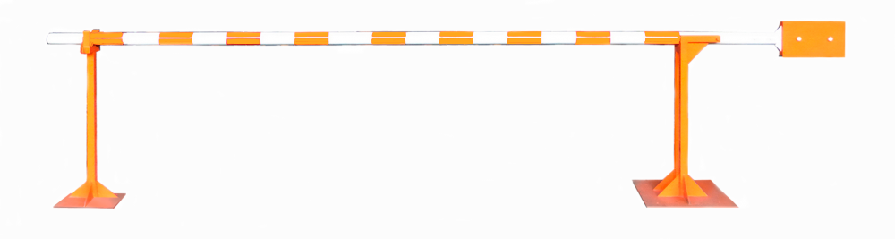 механический шлагбаум с противовесом Line