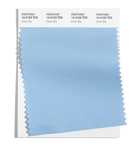 Нежен нюанс на синьото е сред модерните цветове за есен 2021 и зима 2022 според Pantone.