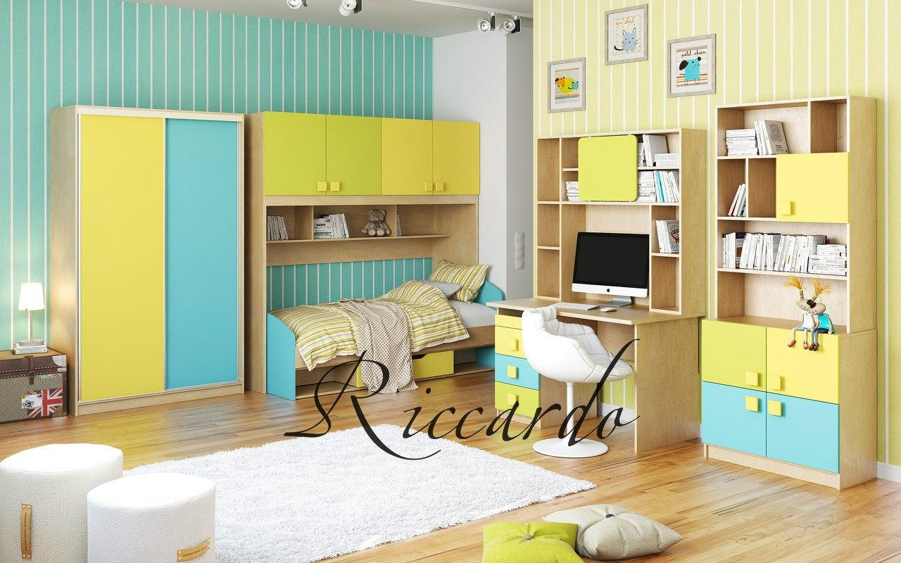 Детская мебель смайли (k2) цена 89 280 руб. фабрика дом мебе.