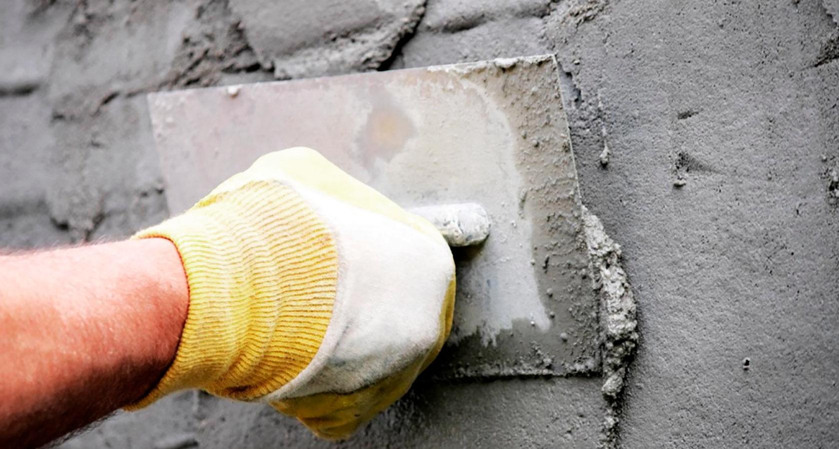 Штукатурка для керамзитобетона цементный раствор расход для кладки кирпича