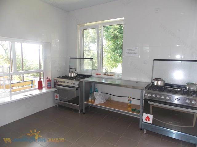 Общая кухня в гостевом доме На курортной, Лермонтово