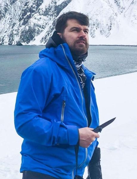 Туристический нож Kizlyar Supreme, шейный нож, небольшой нож для ношения на шее и в сумке, Кизляр Суприм, Amigo Z