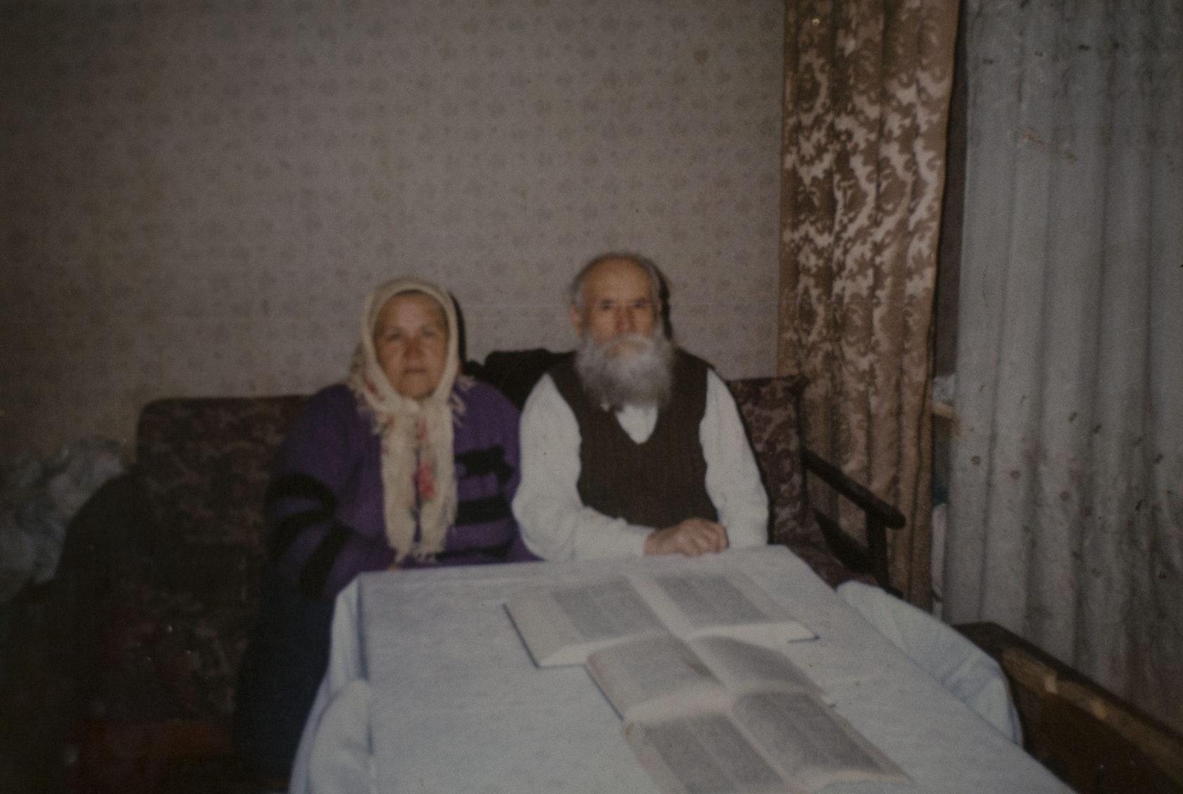 Աննա Կուդրյաշովան հոր հետ Շորժայում