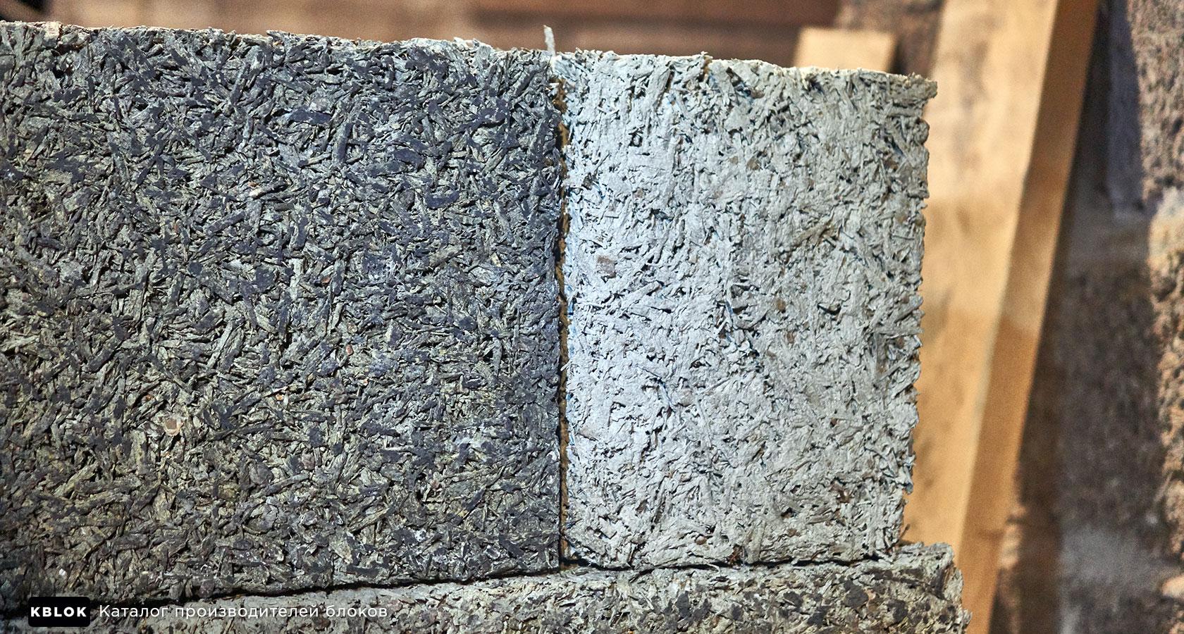 Блоки из белого цемента