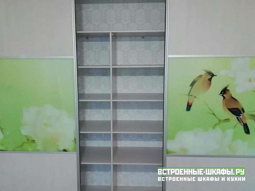 Встроенный шкаф купе в детскую с фотопечатью
