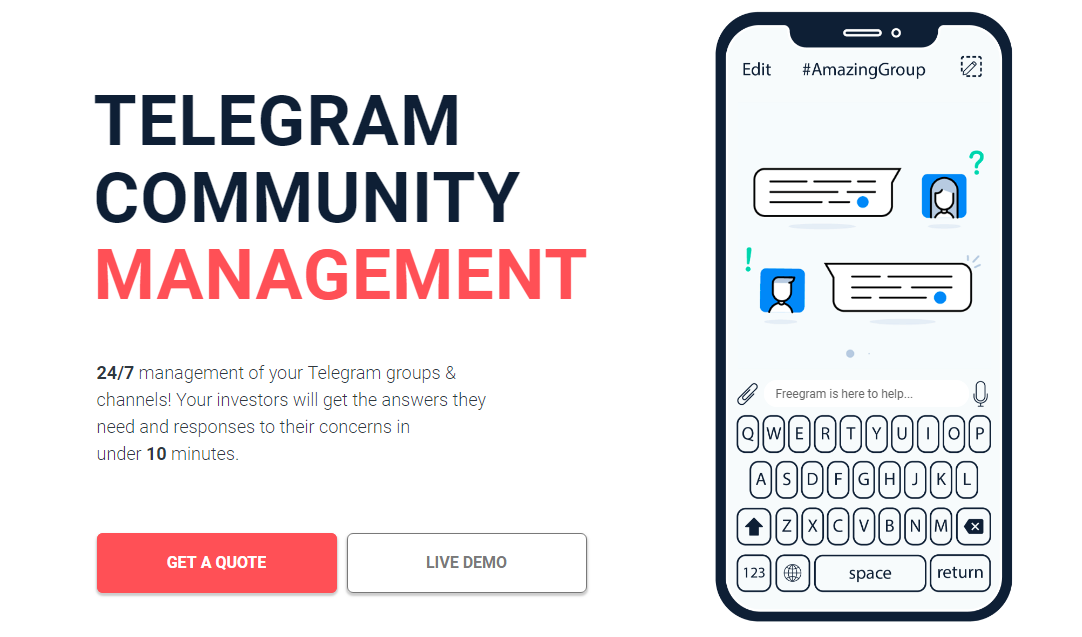 Community Management   Telegram Services  Freegram
