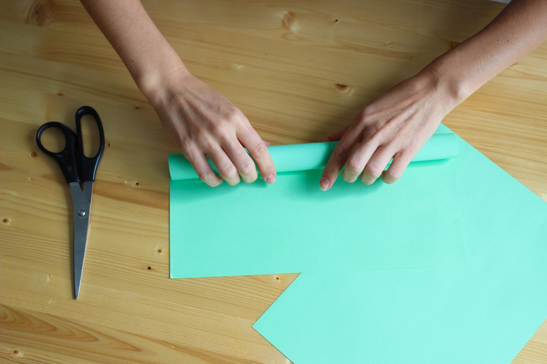Бумажная стружка своими руками