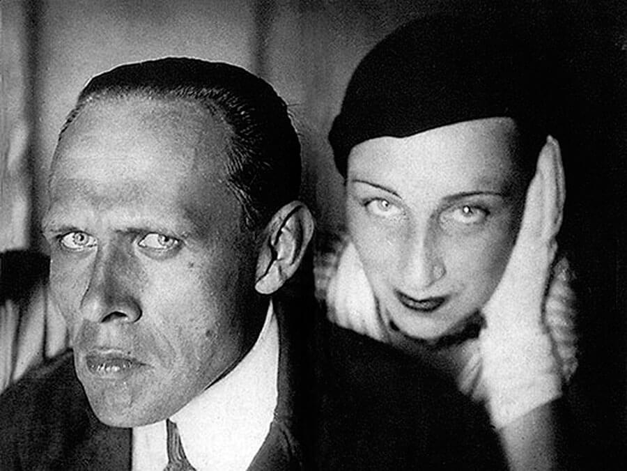 Даниил Хармс и художница Алиса Порет, с которой у него был роман после первой ссылки.