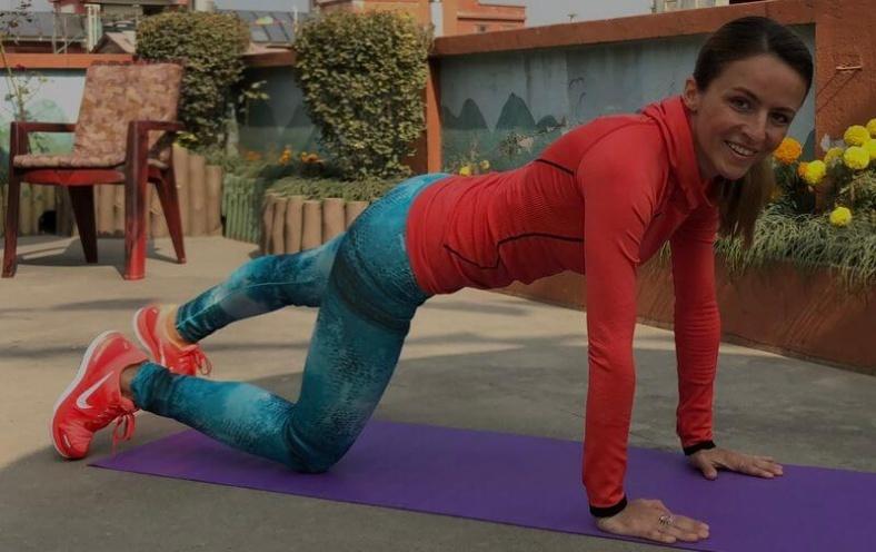 Тренировки йога 23 вечер