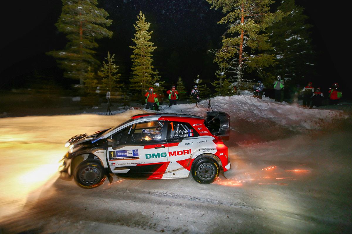 Себастьен Ожье и Жюльен Инграссиа, Toyota Yaris WRC, Arctic Rally Finland 2021